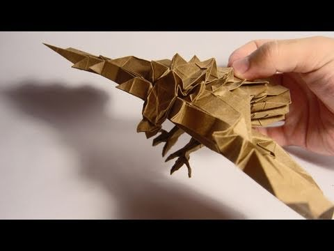 Origami Giveaway #2 - Roc, Mythological Eagle (Román Díaz)