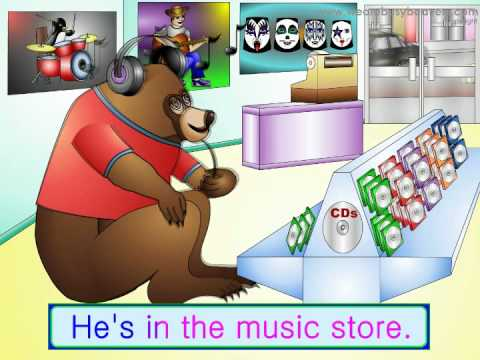 The Shopping Song - Tunes for Preschool Kindy ESL Kids