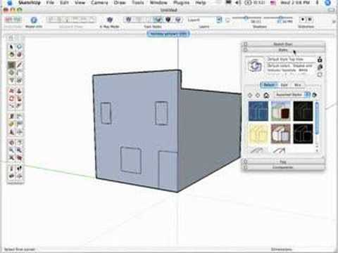 The Sketchup Show #7: MacWorld 2007, Google SketchUp 6(Pt.2)