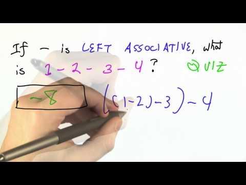 Resolving Ambiguity Solution - CS262 Unit 4 - Udacity