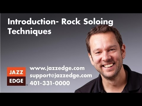 PianoWithWillie.com - Rock Soloing Techniques: Intro