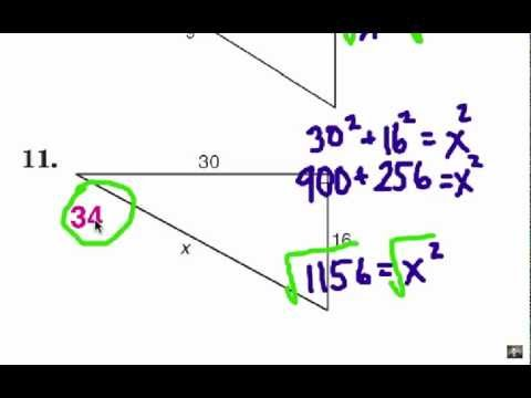 Viewer Challenge: Geometric Mean & Pythagorean Theorem 2