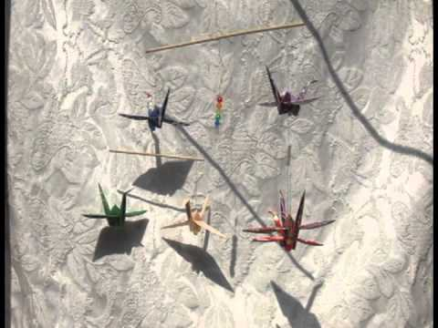 Six Crane Rainbow Mobile - Stress Relief Meditation