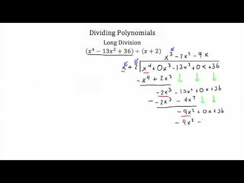 Polynomial Division PT 2