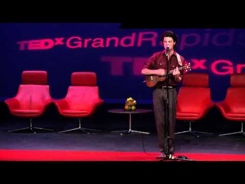 "TEDxGrandRapids - Musical Performance - Garrett Borns  ""Time Flies"""