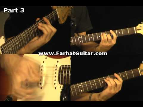 Revolution - The Beatles Guitar Cover Part 3  www.FarhatGuitar.com