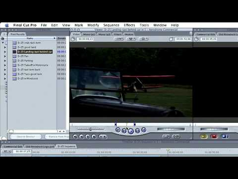 Total Training for Final Cut Pro 5: Ch2 L9 Using In & Out Points in the Viewer