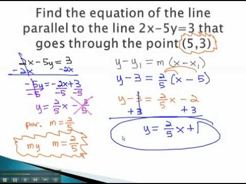 Parallel and Perpendicular - Equations - YouTube.mp4