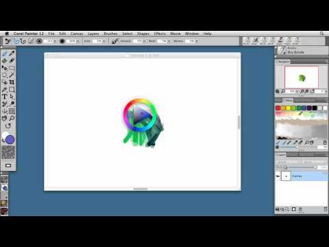 Painter 12: Temporal color palette | lynda.com tutorial