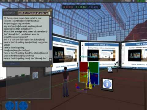 Second Life Teaching Tools - Class Pollster