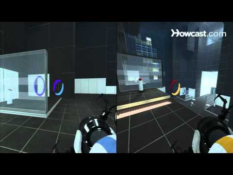 Portal 2 Co-op Walkthrough / Course 1 - Part 2 - Room 02/06