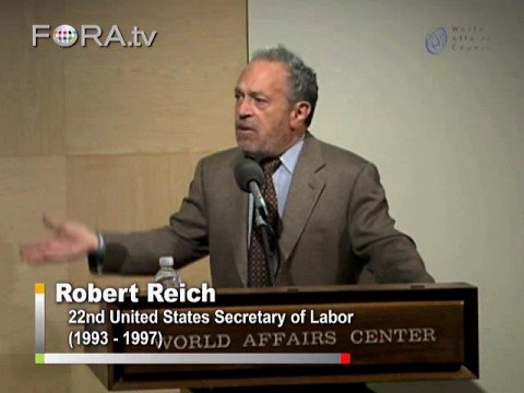"Paulson and Bernanke's Bailout ""Blunders"" - Robert Reich"