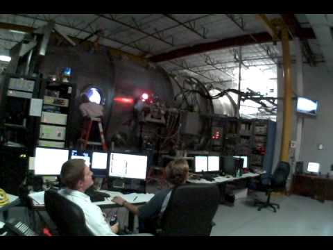 Scientists Firing The VASIMR Plasma Rocket