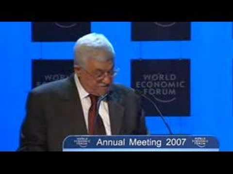 Weltwirtschaftsforum Jahrestreffen 2007 - Israel and the...