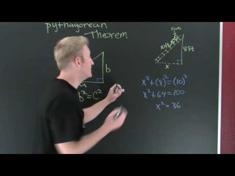 Pythagorean Theorem Application.mov