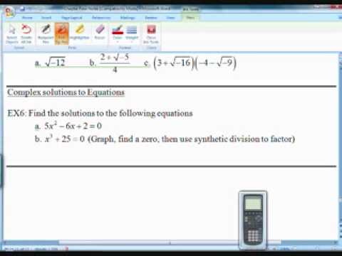 Precalculus Section 4.5 Part 3