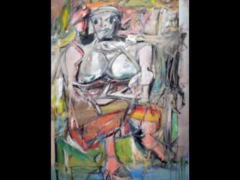 Willem de Kooning, Woman I, 1950-52