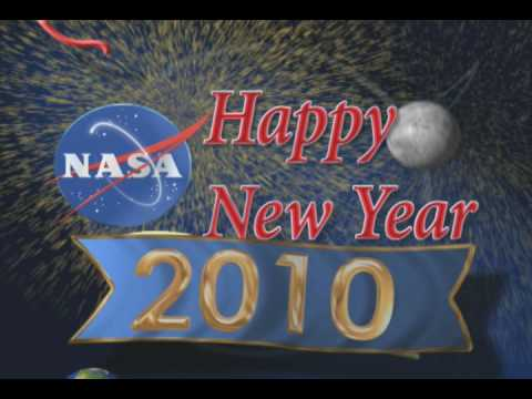 NASA Televisions 2010 Happy New Year ID