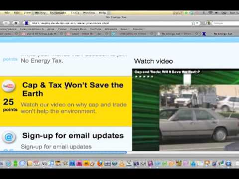 Using NoEnergyTax.com to Expose Cost of National Energy Tax