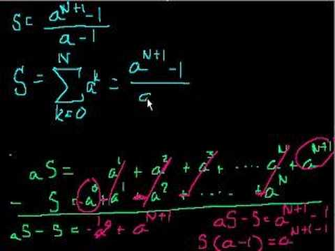 Sequences and series (part 2)
