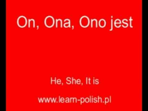 "Verb ""to be"" in Polish."
