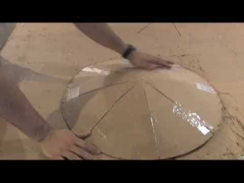 SATELLITE DISH CONVERSION Huge Parabolic Mirror Solar Power Reflective Film DIRECT TV SOLAR