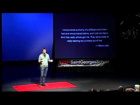 TEDxSaintGeorgesSchool - Andrew McCollum - Education is the Key to the American Dream