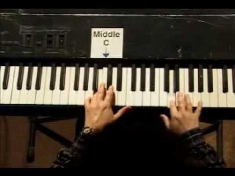 Piano Lesson - Kohler's Very Easiest Piano Studies #13