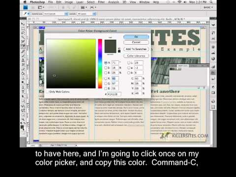 Photoshop for the Web Closed Captioned - Background Images