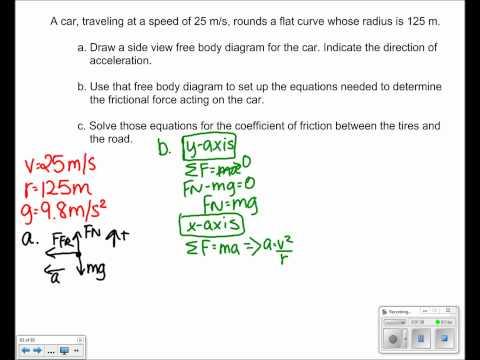 Uniform Circular Motion Presentation Free Response #02