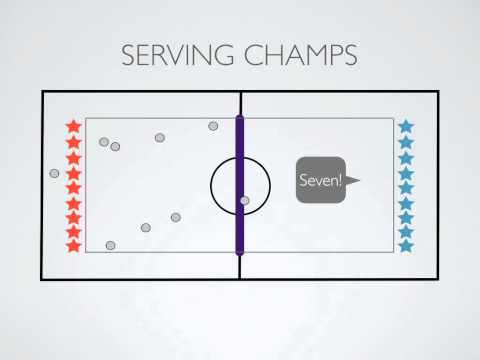 Physical Education Games - Serving Champs