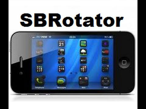 SBRotator - Rotate Springboard Icons on iPhone & iPod Touch