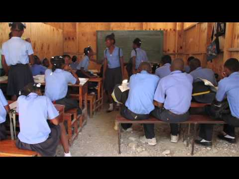 What is it like to teach in Haiti?