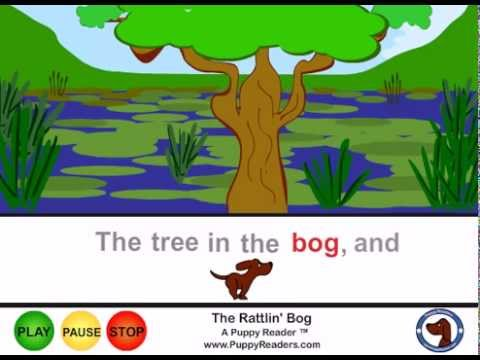 The Rattlin' Bog: Song Animation with Words