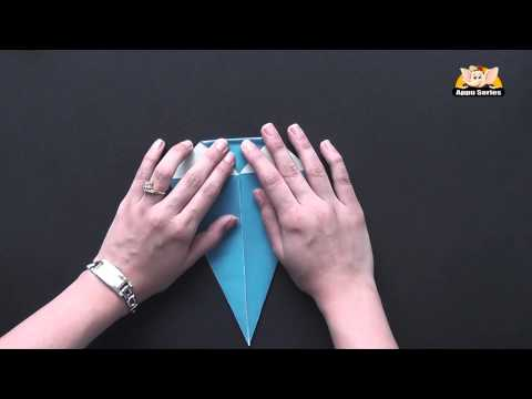 Origami - Let's Learn How to make a Whale