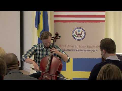 TEDxUSEmbassyStockholm - BenSollee - Sustainable Cycling Music Tours