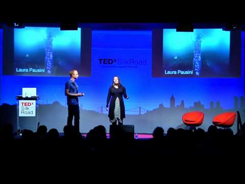 Wearable Tech Fashion Show: Francesca Rosella & Ryan Genz at TEDxSilkRoad