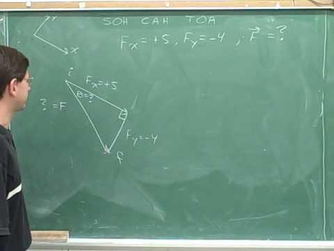Physics: Vector components (80)