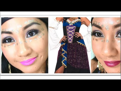 ✿ GYPSY MAKEUP TUTORIAL ✿ (Halloween Makeup, Interactive Video) - AprilAthena7