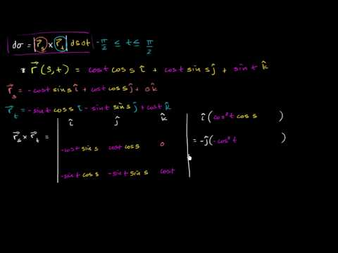 Surface Integral Example Part 2 - Calculating the Surface Differential