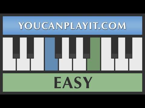 Super Mario Bros - Flagpole [Easy Piano Tutorial]