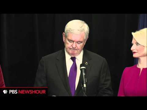 Watch Newt Gingrich's Full Speech Announcing End of Presidential Campaign