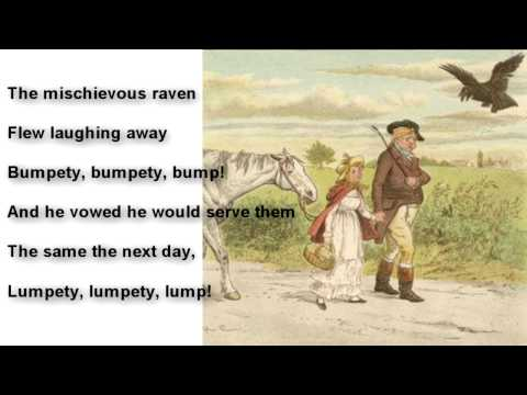 nursery rhymes with lyrics -'A Farmer went Trotting'