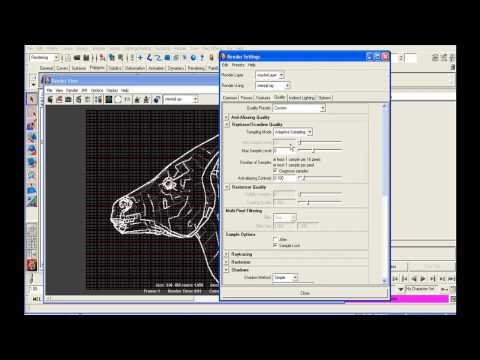 Troubleshooting mental ray Rendering on Maya