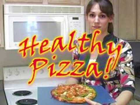 OMG! Healthy Pizza!  How to Cook, Nutrition by Natalie