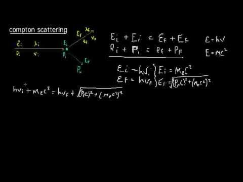 Quantum Mechanics 003 :  derivation of compton scattering part 1