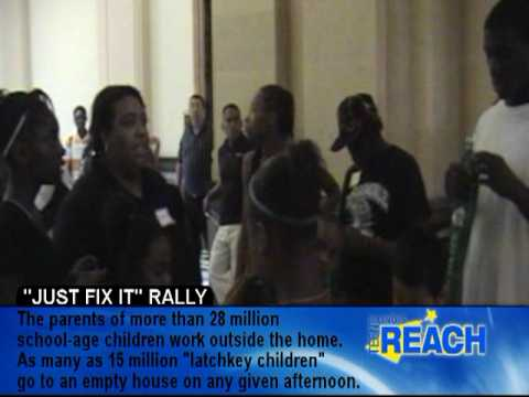 "Teen REACH ""Just Fix It"" Rally"