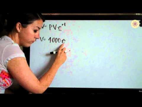 Present and Future Value Example 2