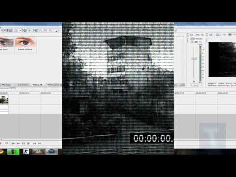 Sony Vegas PRO Security Camera Effect Tutorial