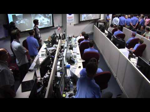 President Obama Calls NASA's Mars Curiosity Rover Team